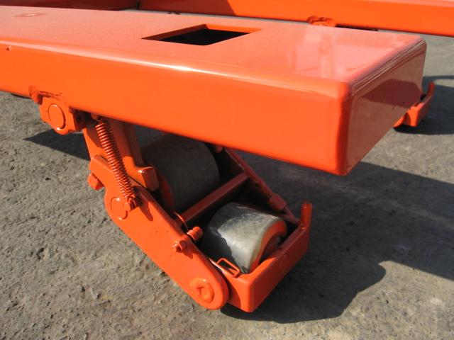 横移動兼用型パレットトラック